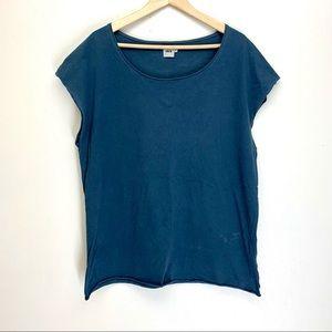ASOS Cap Sleeve Cotton T Shirt Size L